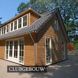 Olympa Houtbouw Home - Clubgebouw