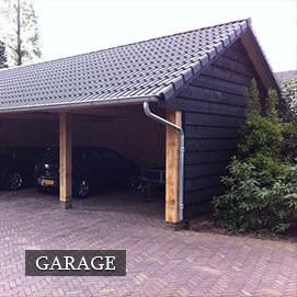 Olympa Houtbouw Home - Garage