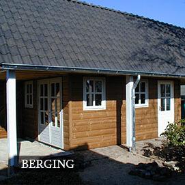 Olympa Houtbouw houten bijgebouw