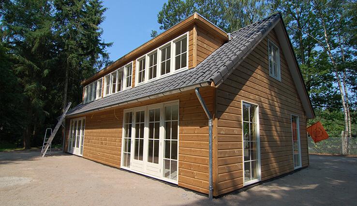 Olympa Houtbouw - Voorbeelden houten clubgebouw 1