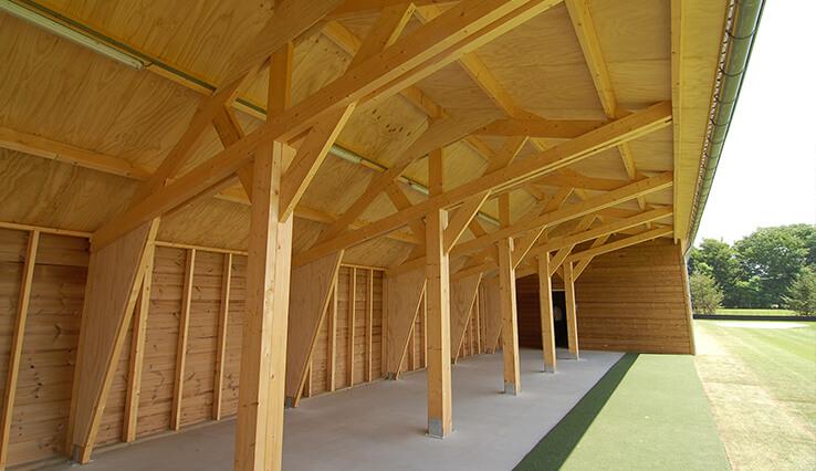 Olympa Houtbouw - Voorbeelden houten clubgebouw 3