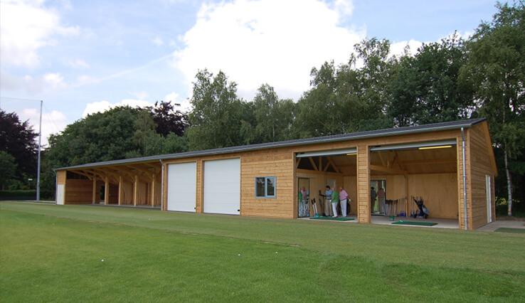 Olympa Houtbouw - Voorbeelden houten clubgebouw 4