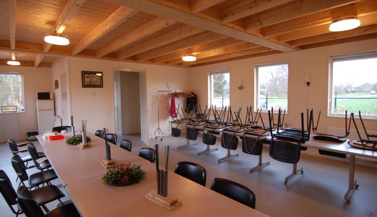Olympa Houtbouw - Voorbeelden houten clubgebouw 5
