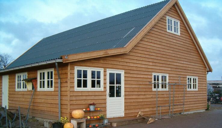Olympa Houtbouw - Voorbeelden houten clubgebouw 6