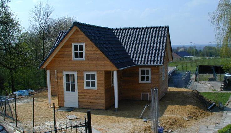 Olympa Houtbouw - Voorbeelden houten tuinhuis 3