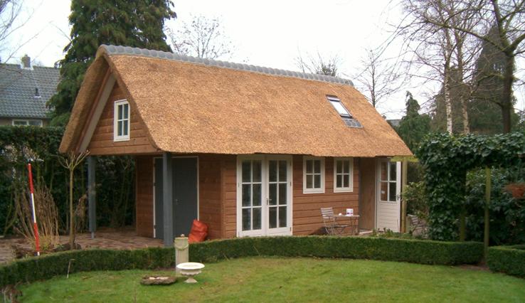 Olympa Houtbouw - Voorbeelden houten tuinhuis 6