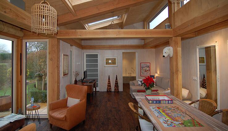 Olympa Houtbouw Voorbeelden houten woning 1