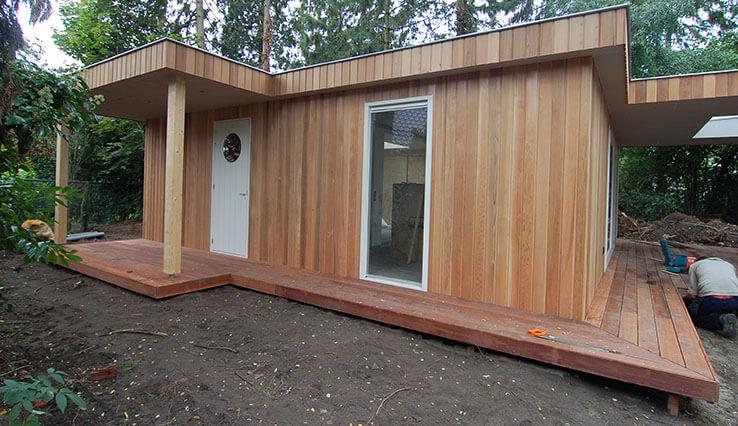 Olympa Houtbouw - Voordeel houten recreatiehuis 3
