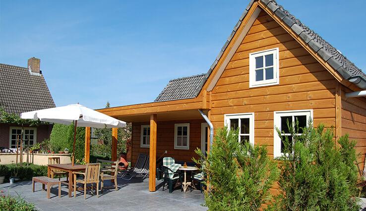Olympa Houtbouw houten Gastverblijf voorbeeld 4