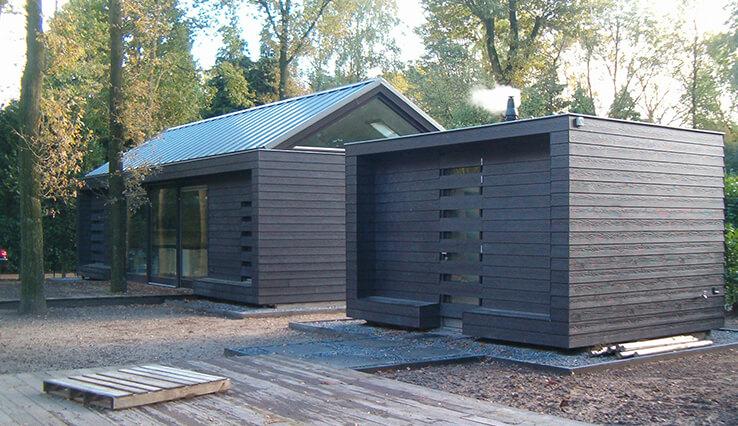 Olympa Houtbouw houten gastverblijf voorbeeld 6