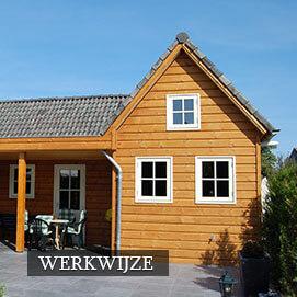 Olympa houtbouw - Werkwijze