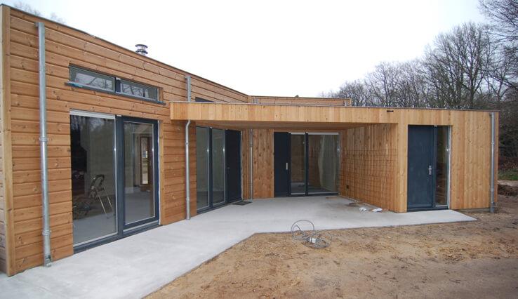 Olympa Houtbouw voorbeeld 2 Houten kantoorruimte