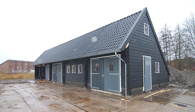 Olympa Houtbouw voorbeeld houten Stal 2
