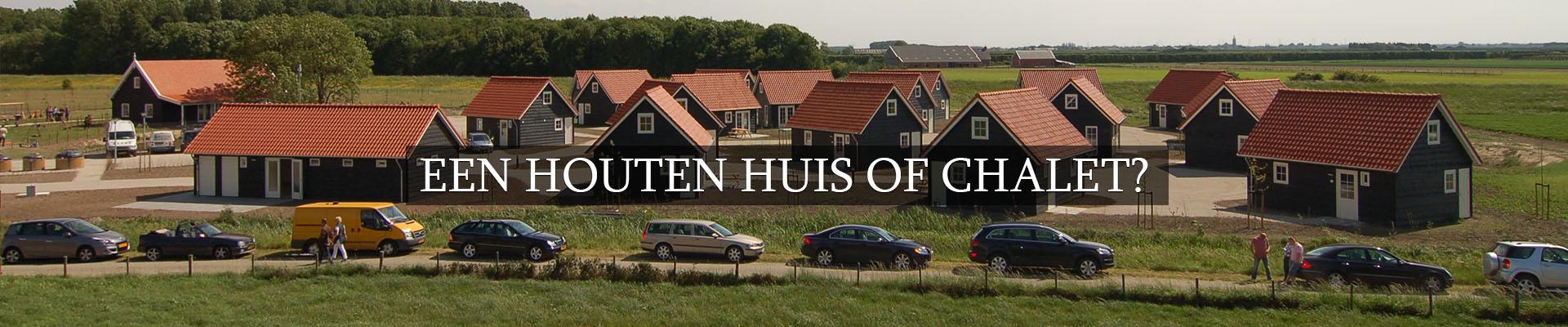 Olympa Houtbouw - Houten huis of chalet 1